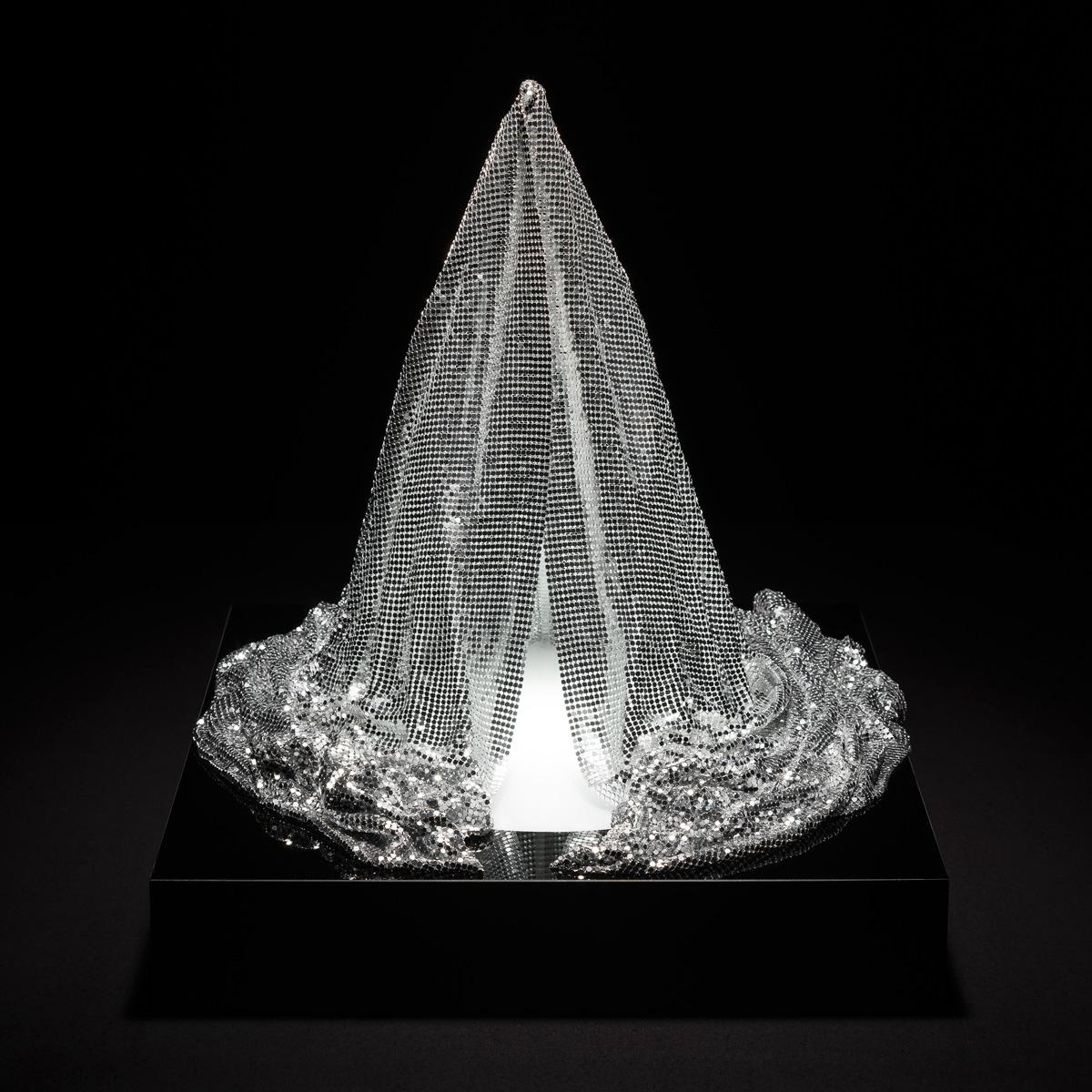 Liliane Lijn Veiled #1 silver