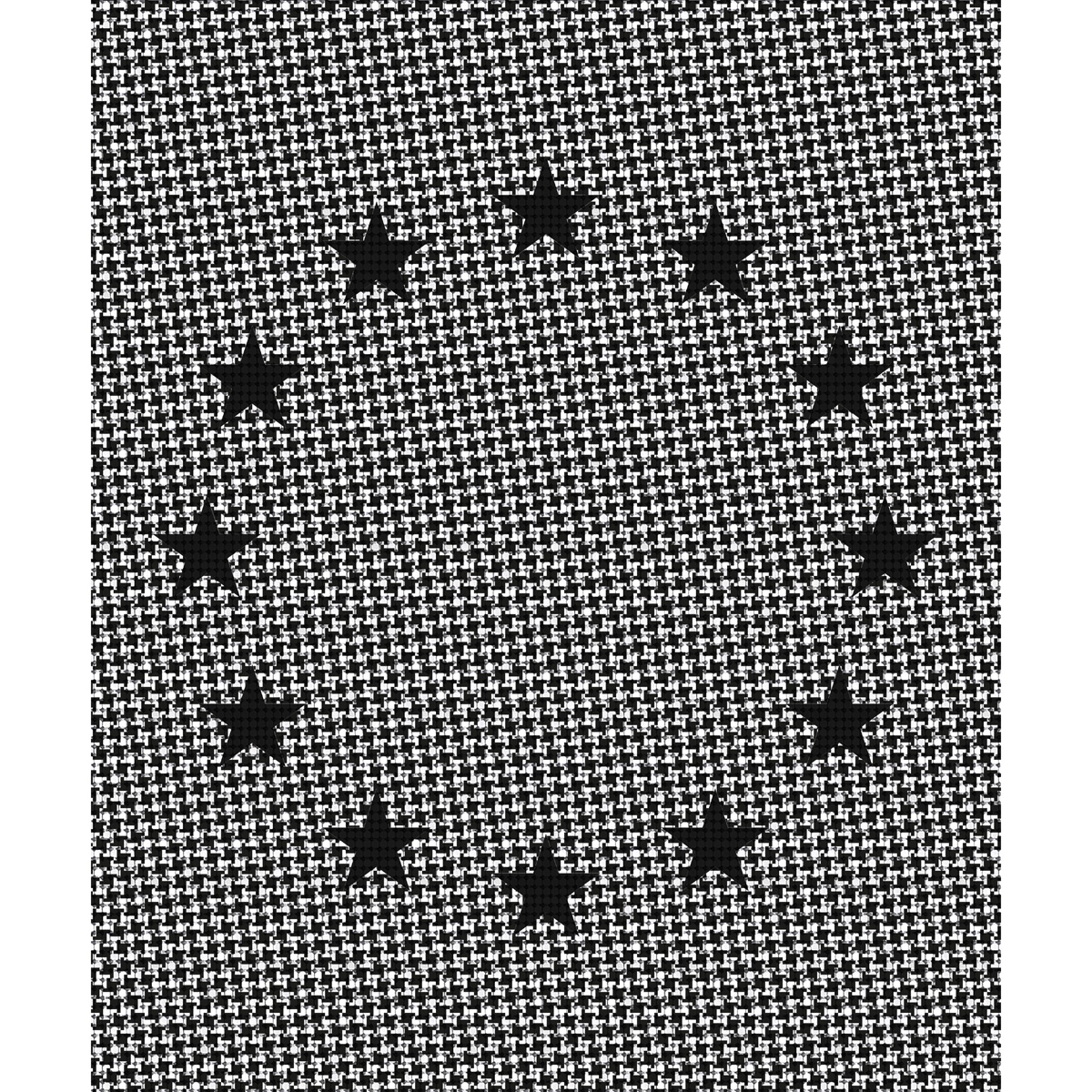 Rosemarie Trockel Lesson 1 black stars